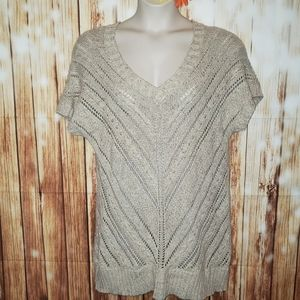 Maurices XL Open Knit Sweater Tunic Dress